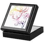 Rainbow Horse Flourish Keepsake Box