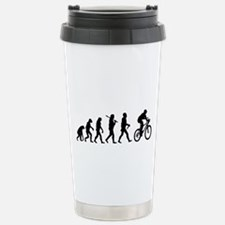 Evolution Cycling Funny Travel Mug