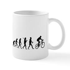 Evolution Cycling Funny Mug