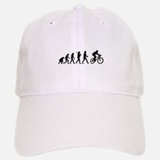 Evolution Cycling Funny Baseball Baseball Cap