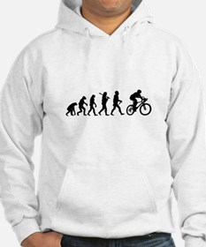 Evolution Cycling Funny Hoodie