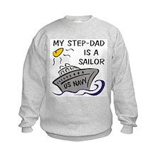 My Step-Dad is a Sailor Sweatshirt