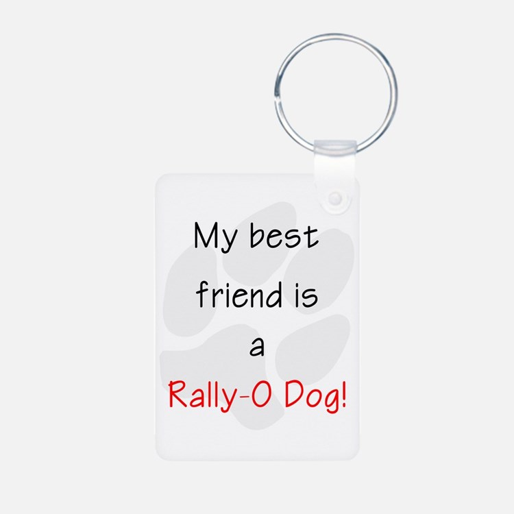 My best friend is a Rally- Keychains