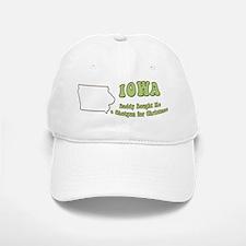 Vintage Iowa Baseball Baseball Cap