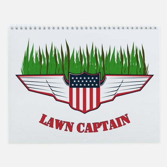 Lawn Captain Wall Calendar