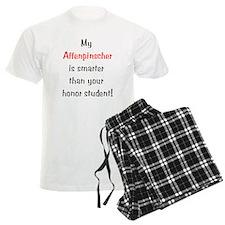 My Affenpinscher is smarter.. Pajamas
