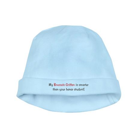 My Brussels Griffon is smarte baby hat
