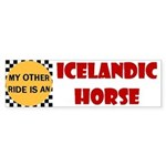 My Other Ride Is An Icelandic Bumper Sticker
