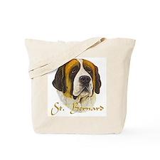 """""""St. Bernard"""" Tote Bag"""