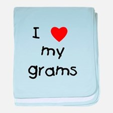 I love my grams baby blanket