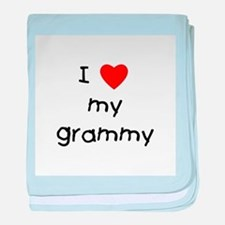 I love my grammy baby blanket