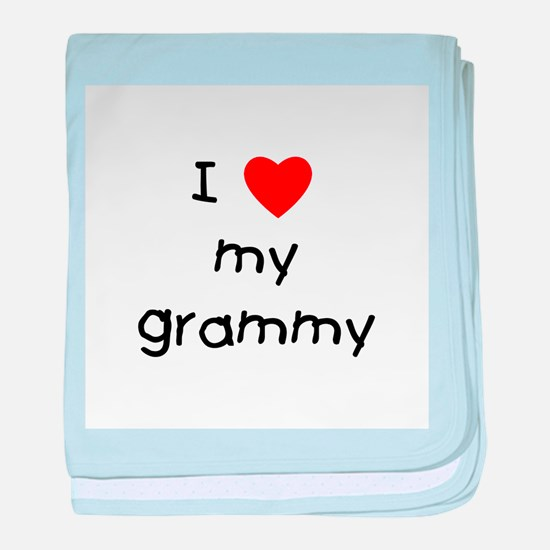 I love my grammy baby blanket