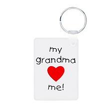 My grandma loves me Keychains
