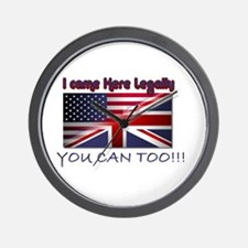You can Too!! Wall Clock
