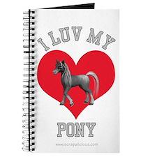 I Love My Pony Journal