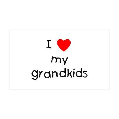 I love my grandkids 38.5 x 24.5 Wall Peel