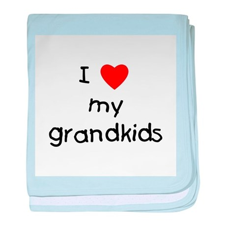 I love my grandkids baby blanket