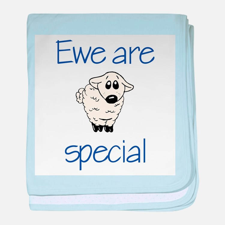 Ewe are special baby blanket