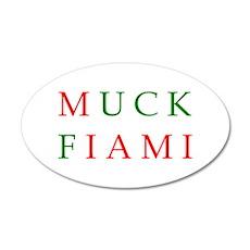 Muck Fiami 22x14 Oval Wall Peel