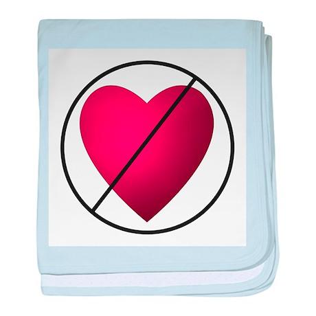 No Valentine's Day baby blanket