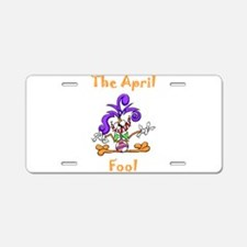 The April Fool Aluminum License Plate