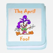 The April Fool baby blanket