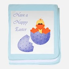 Have a Happy Easter (ducky in baby blanket