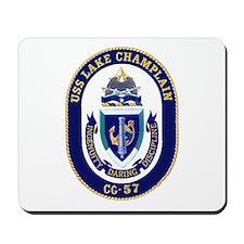 USS Lake Champlain CG 57 Mousepad