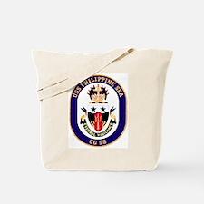 USS Philippine Sea CG 58 Tote Bag