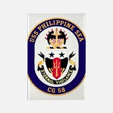 USS Philippine Sea CG 58 Rectangle Magnet