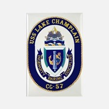 USS Lake Champlain CG 57 Rectangle Magnet