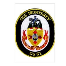 USS Monterey CG 61 Postcards (Package of 8)