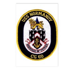 USS Normandy CG 60 Postcards (Package of 8)