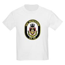 USS Princeton CG 59 Kids T-Shirt