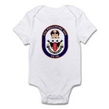 USS Philippine Sea CG 58 Infant Creeper