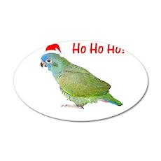 Ho Ho Ho (pionus) 22x14 Oval Wall Peel