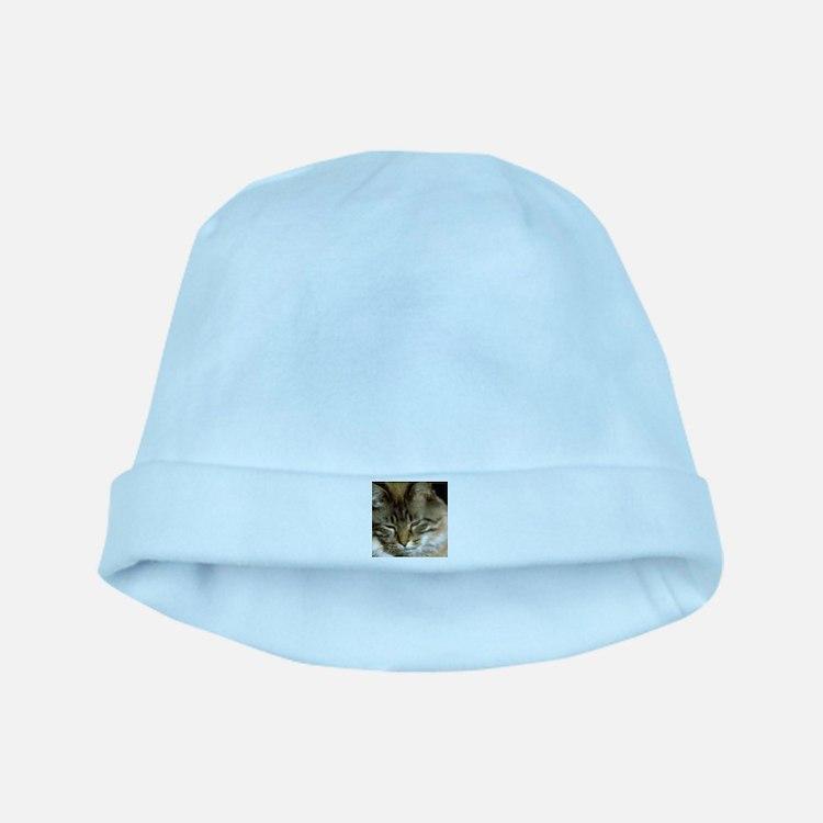 Sleepy Cat baby hat