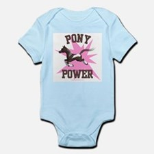 Pony Power - Pink Infant Creeper
