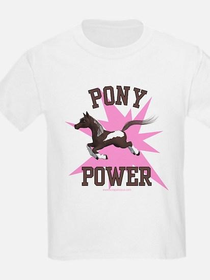 Pony Power - Pink Kids T-Shirt