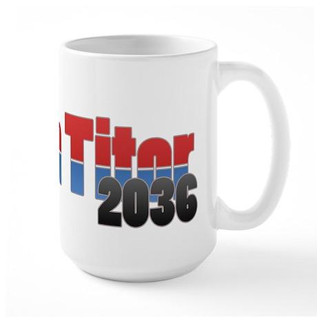 John Titor Large Mug