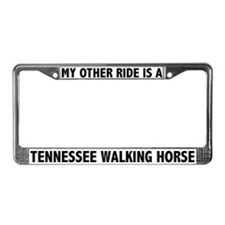 Tennessee Walking Horse License Plate Frame