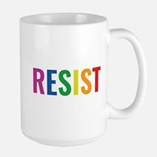 Glbt Resist Large Mug