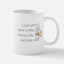 COFFEE, CATS, NAP Mugs