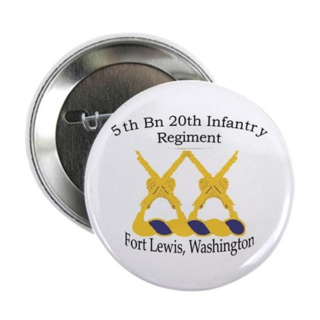 """1st Bn 20th Infantry 2.25"""" Button"""