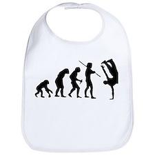 Breakdance evolution Bib