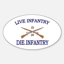 1st Bn 20th Infantry Decal