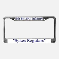 1st Bn 20th Infantry License Plate Frame