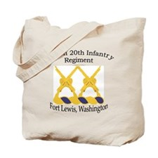 1st Bn 20th Infantry Tote Bag