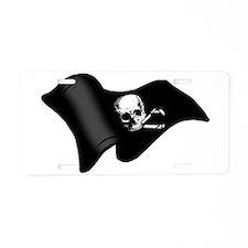 Pirates flag Aluminum License Plate