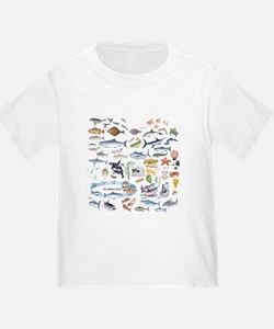 Funny Fly fishing art T